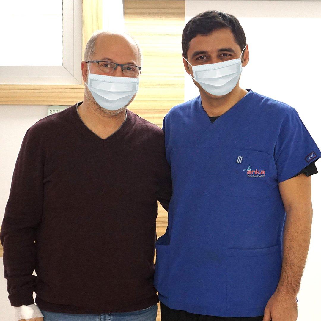 10 yıllık şeker hastalığından Türkiye'de kurtuldu