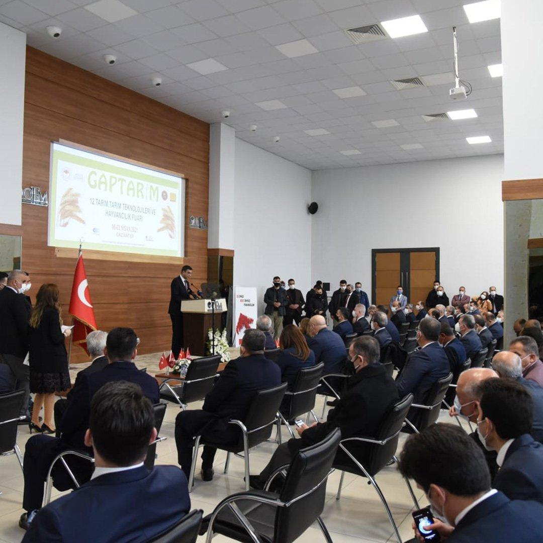 12'inci GAPTARIM fuarı törenle açıldı