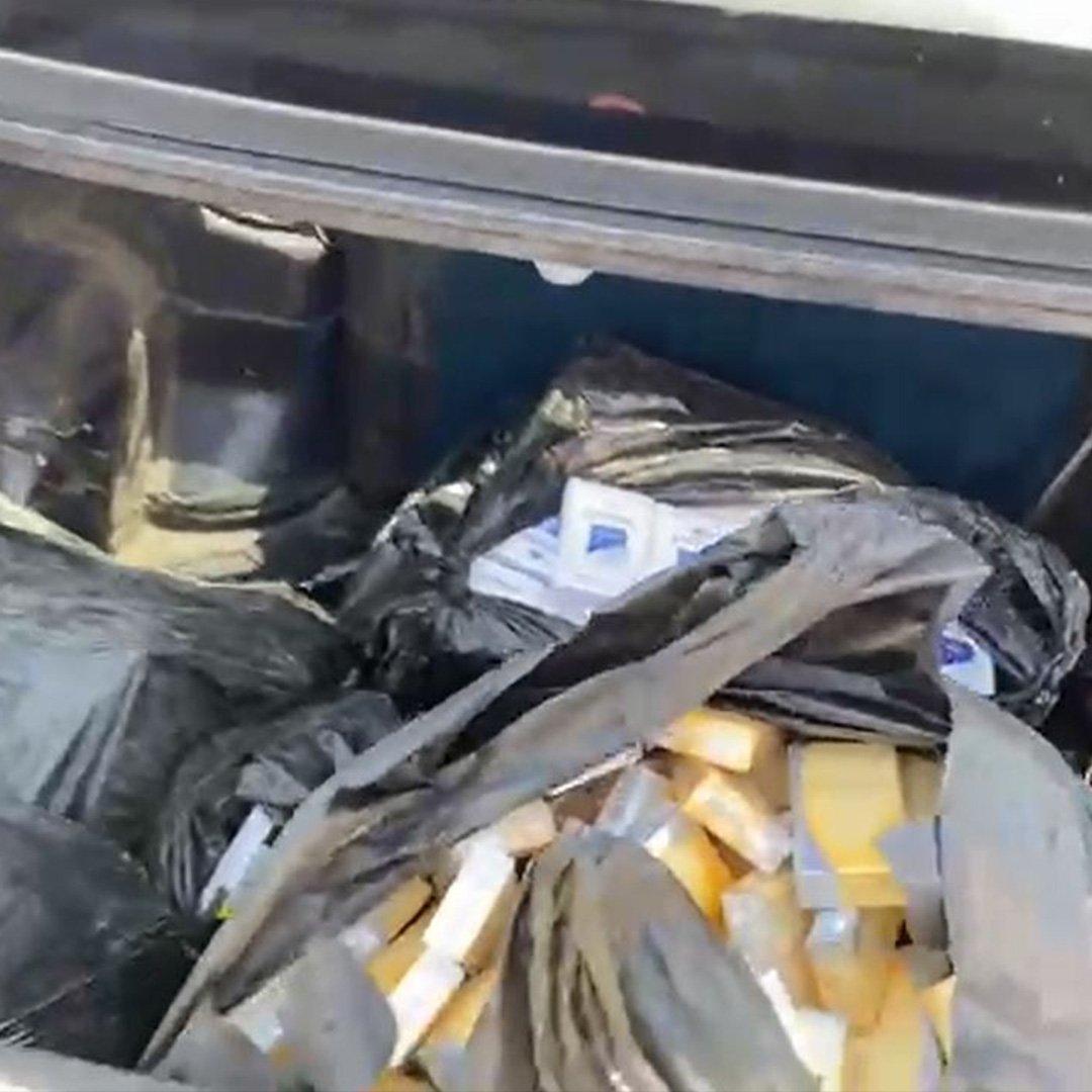980 Paket Kaçak Sigara Ele Geçirildi