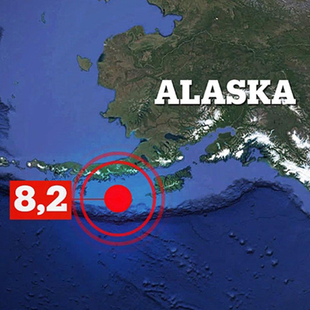 ABD'de 8,2 şiddetinde deprem: Tsunami ilk önce Sand Point'i vuracak