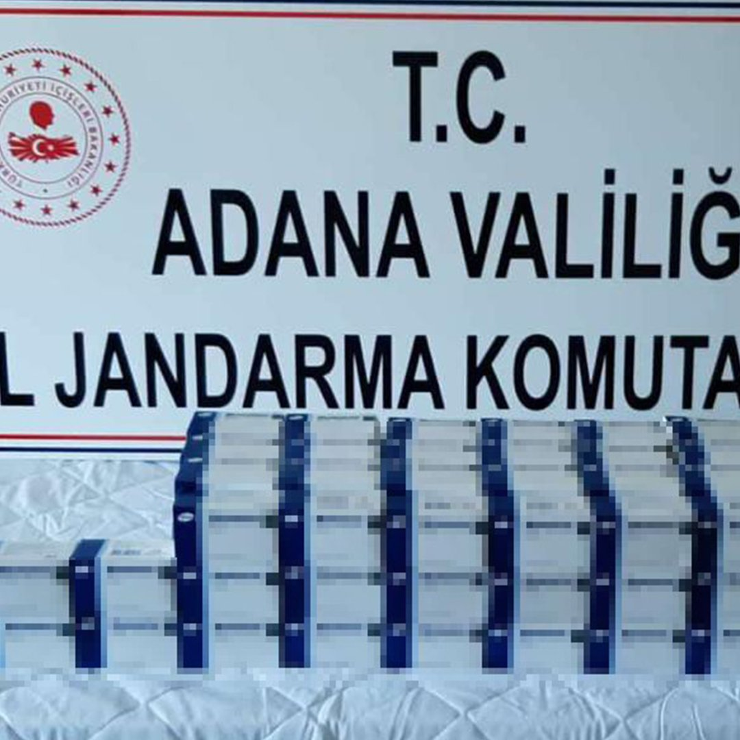 Adana'da 5 bin adet sentetik hap ele geçirildi