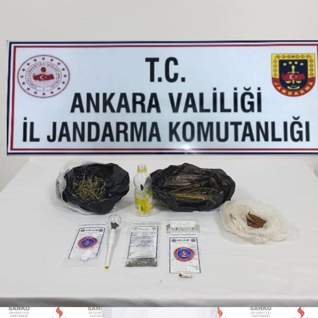 Ankara'da uyuşturucu operasyonu: 4 gözaltı