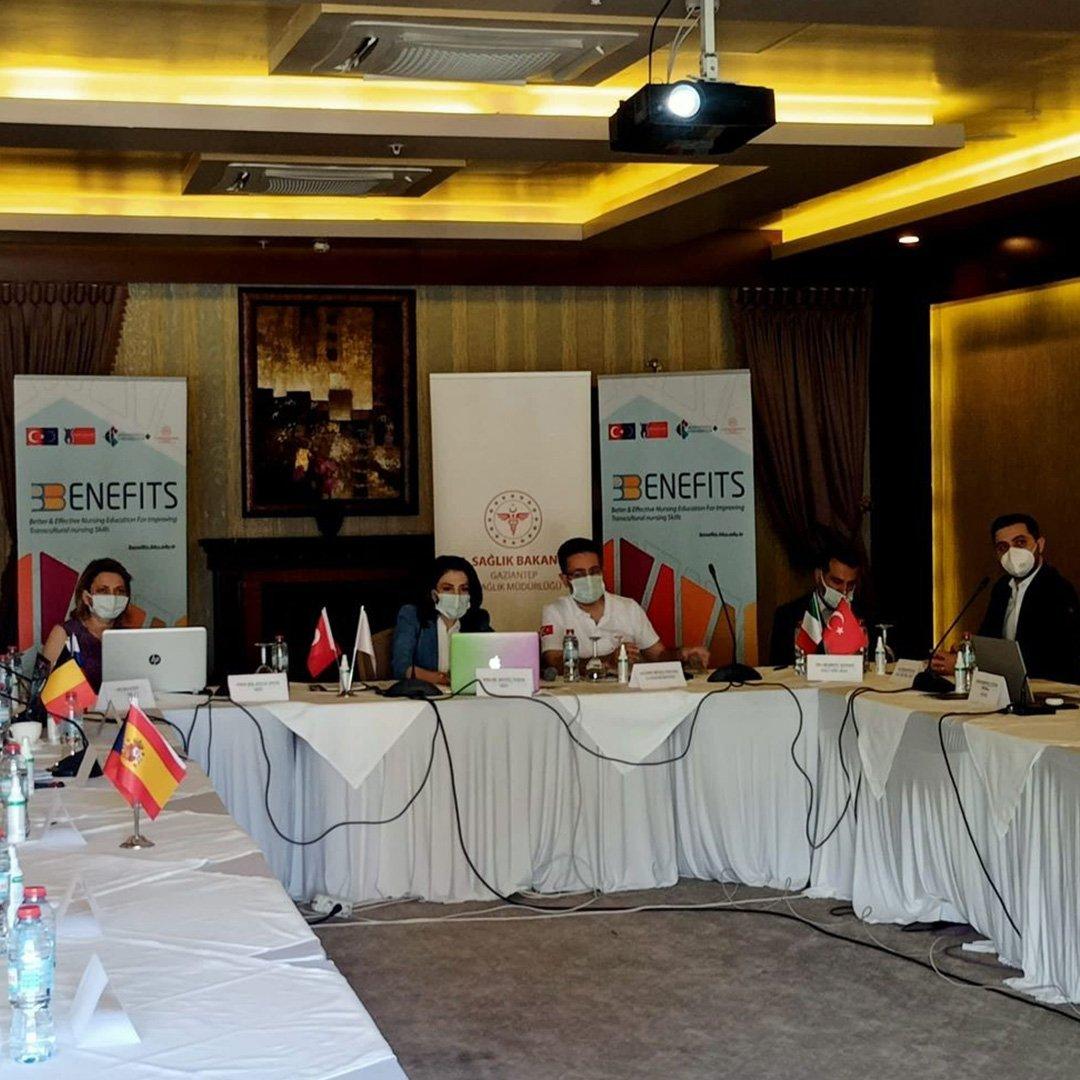 Avrupa Birliği Erasmus+ projesinin üçüncü aşama çalışmaları Gaziantep'te