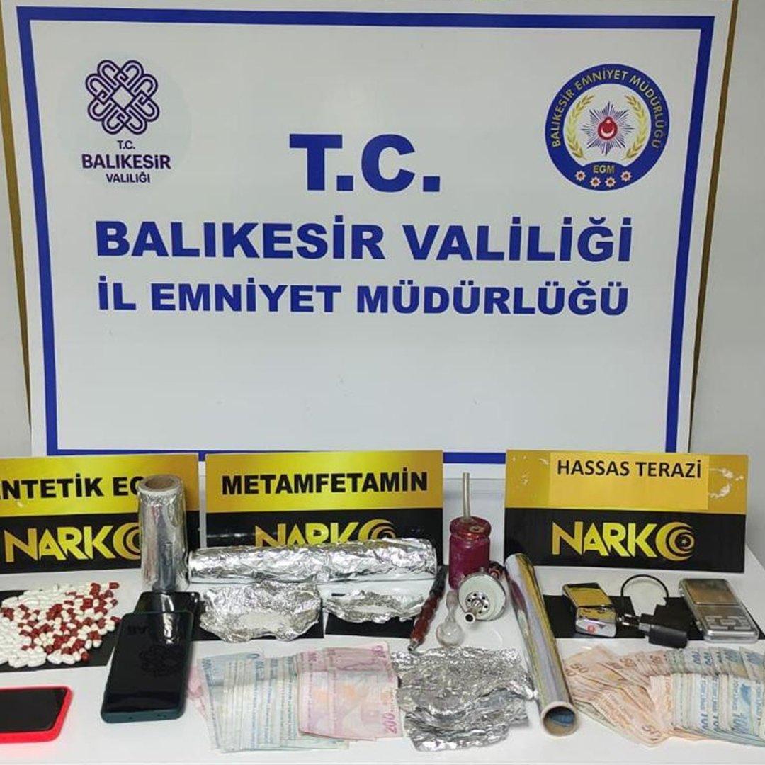 Balıkesir'de polisten son 1 haftada 146 şahsa gözaltı
