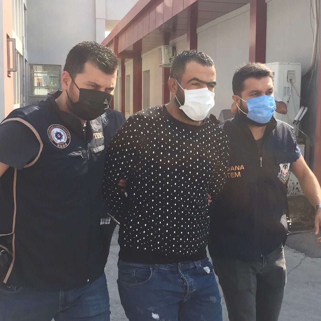 Barış Pınarı Harekatı'nda Türk askerinden kaçan YPG'li terörist Adana'da yakalandı