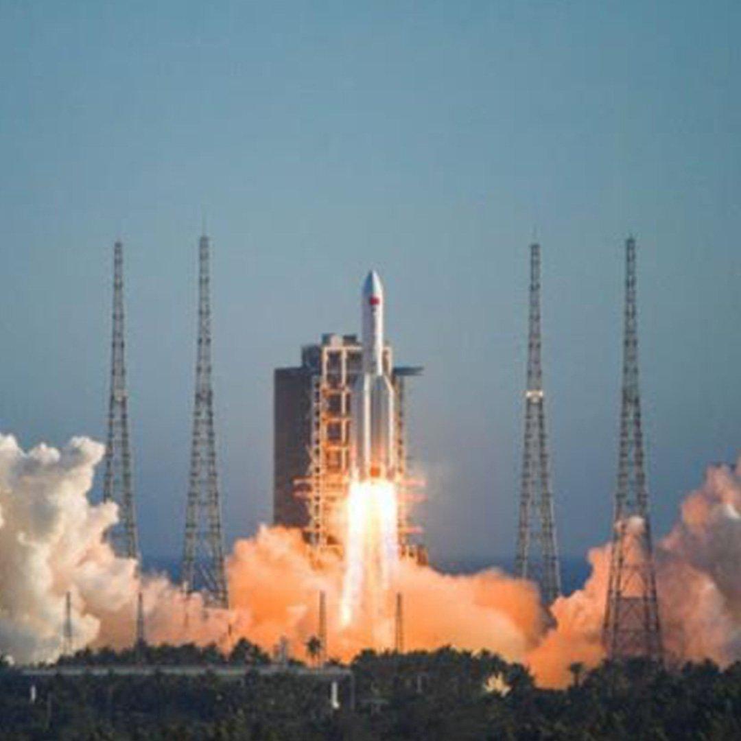 Çin'in fırlattığı roket kontrolden çıktı, Dünya'ya düşüyor!