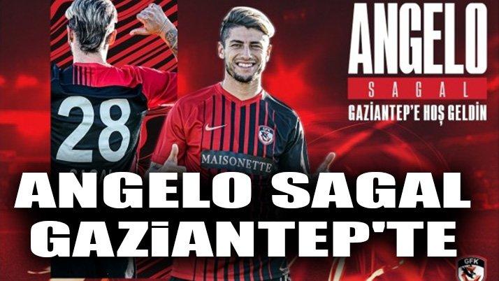 Angelo Sagal Gaziantep'te