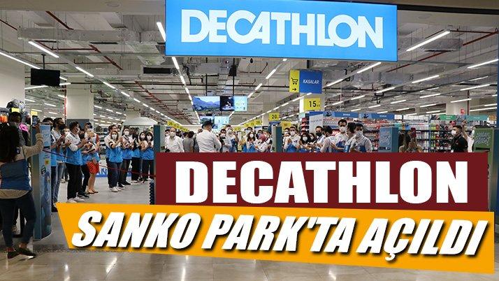 Decathlon SANKO Park'ta açıldı