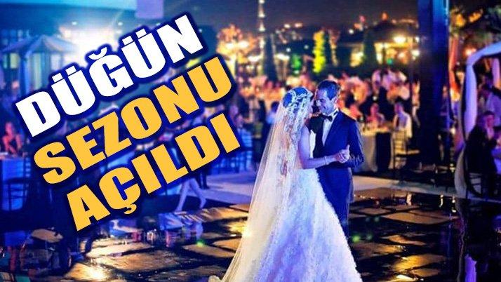 Düğün Sezonu Açıldı