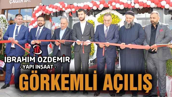 Gaziantep'te görkemli açılış