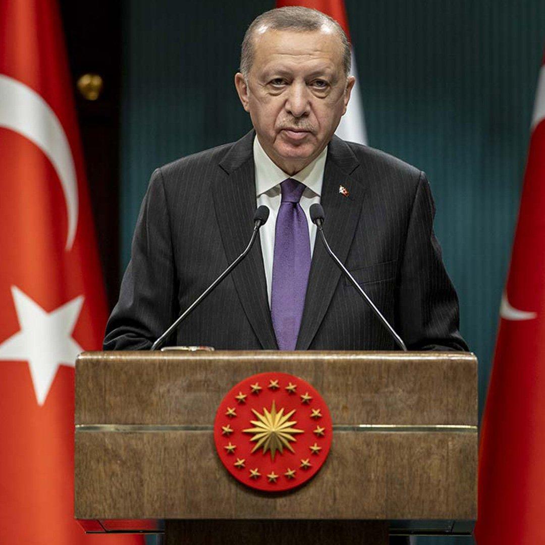 Cumhurbaşkanı Erdoğan, Tahmazoğlu ile görüştü