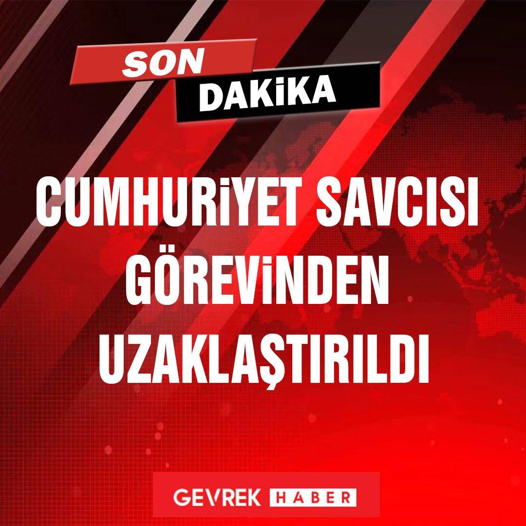 Cumhuriyet Savcısı Eyüp Akbulut görevinden uzaklaştırıldı