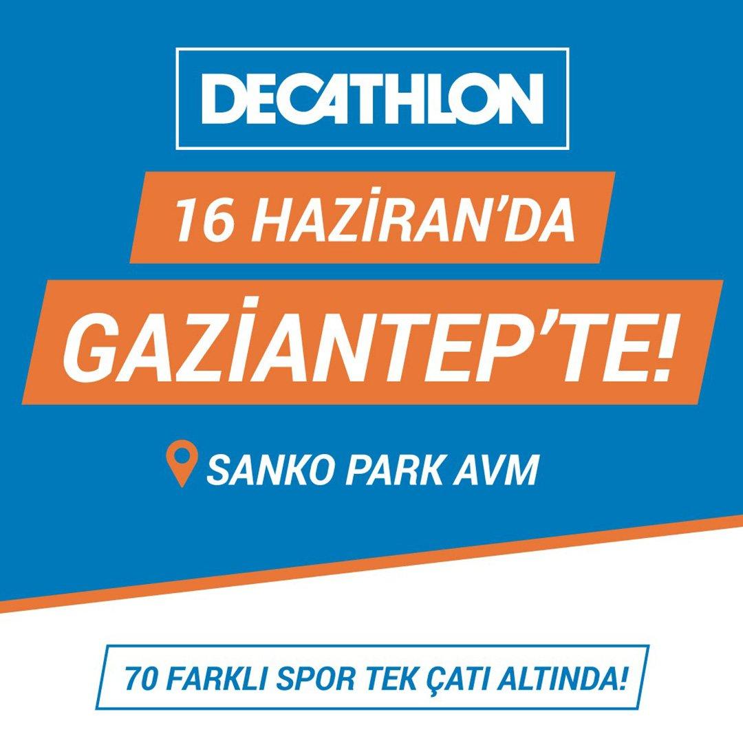 Decathlon SANKO Park'ta