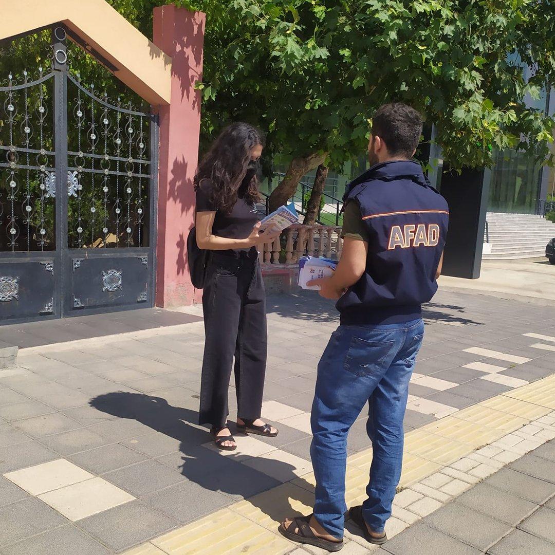Diyarbakır AFAD il müdürlüğü eğitimlerine aralıksız devam ediyor