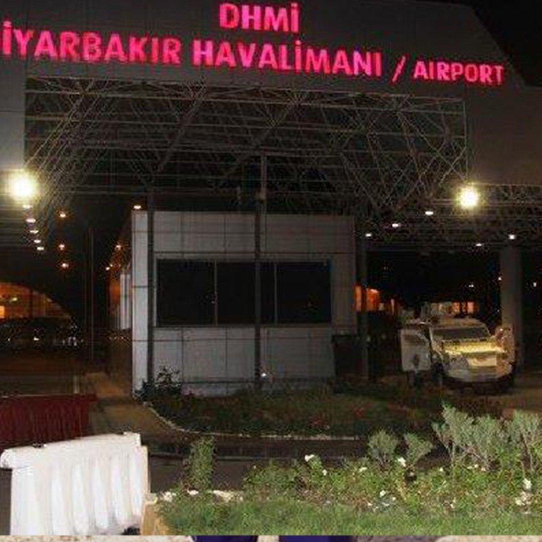 Diyarbakır Havalimanı 30 gün süreyle kapatıldı
