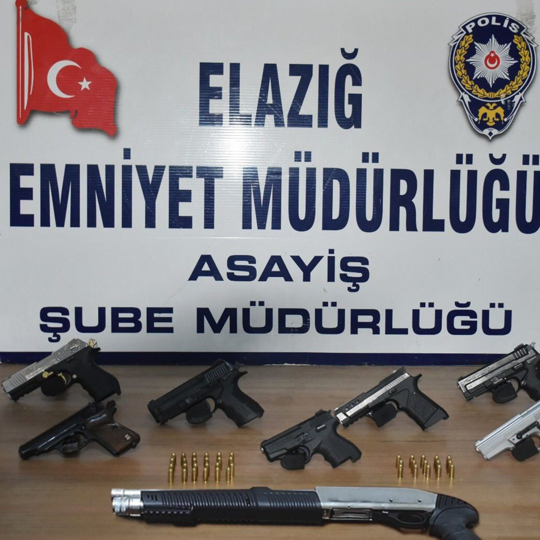 Elazığ'da aranan 89 şahıs yakalandı, 27'si tutuklandı