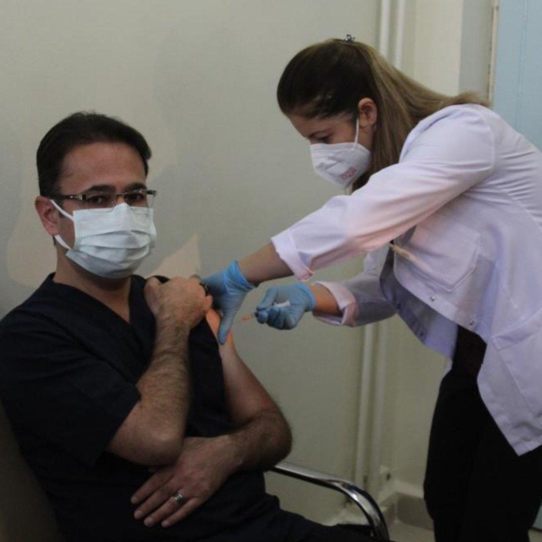 En fazla aşı Gaziantep'te yapıldı