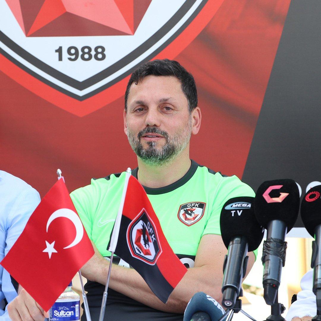 Erol Bulut, Gaziantep FK ile ilk antrenmanına çıktı