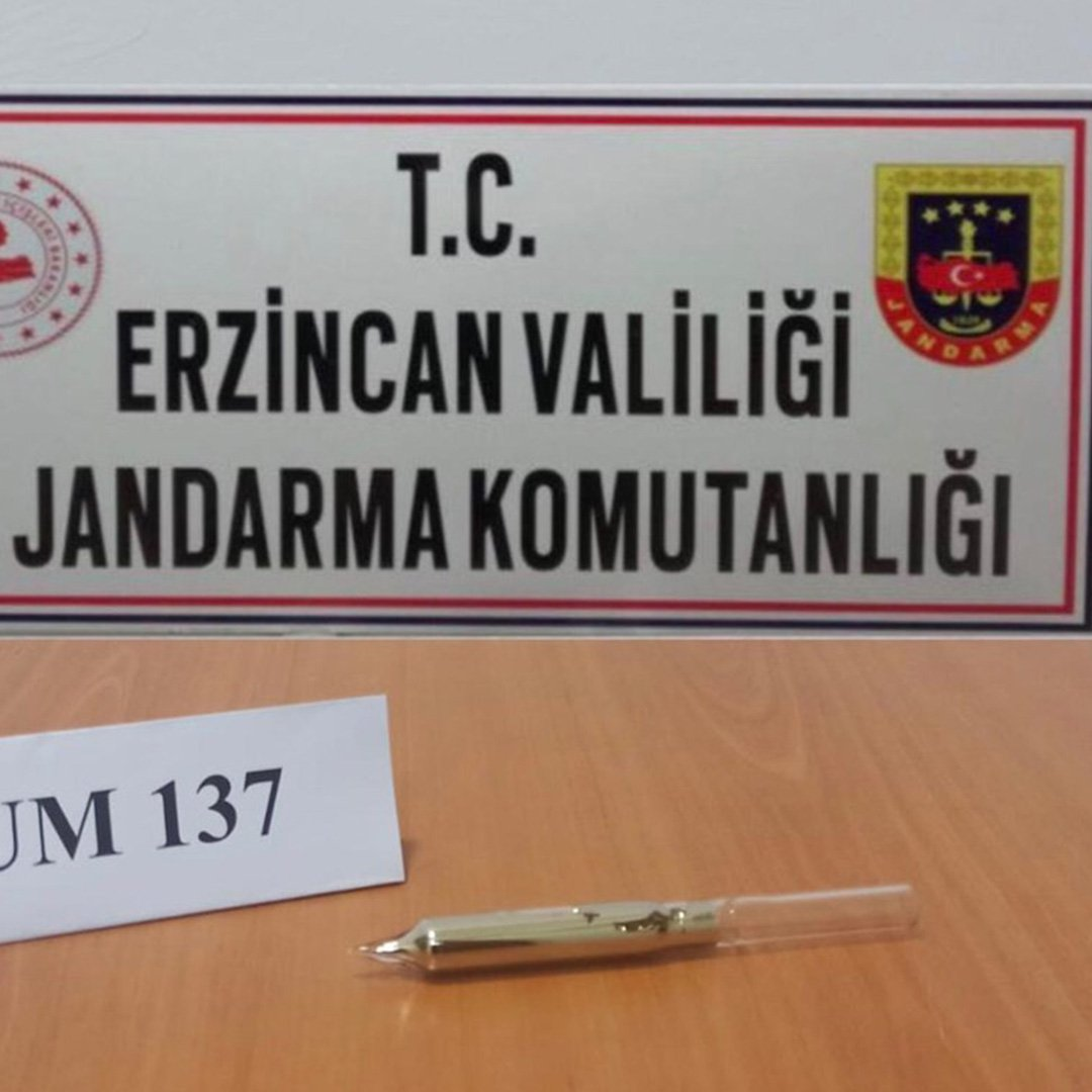 Erzincan'da radyoaktif madde Sezyum 137 ele geçirildi
