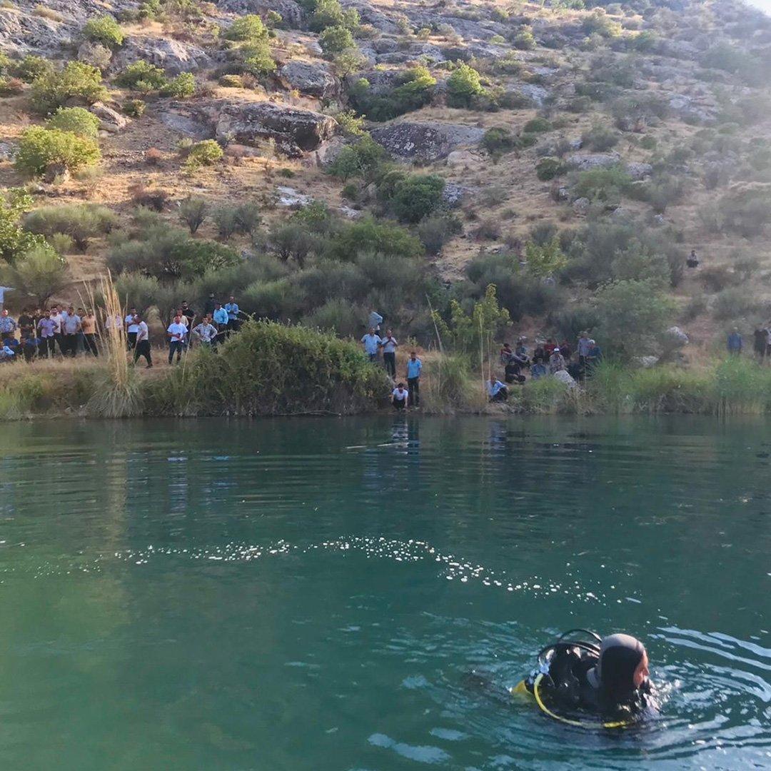 Fırat Nehri'nde boğulma vakası
