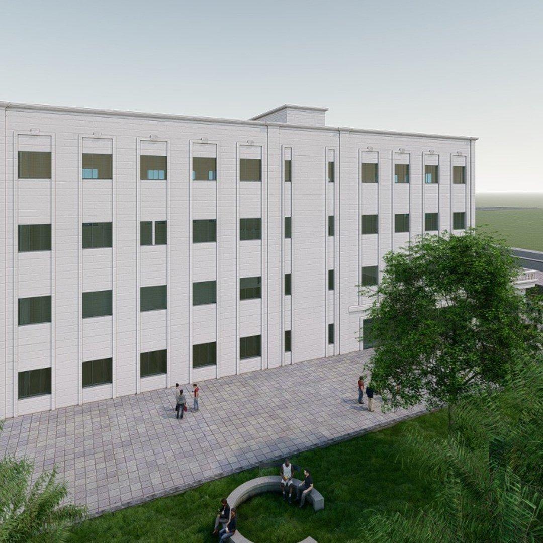GAİB'den modern bir bina çalışması
