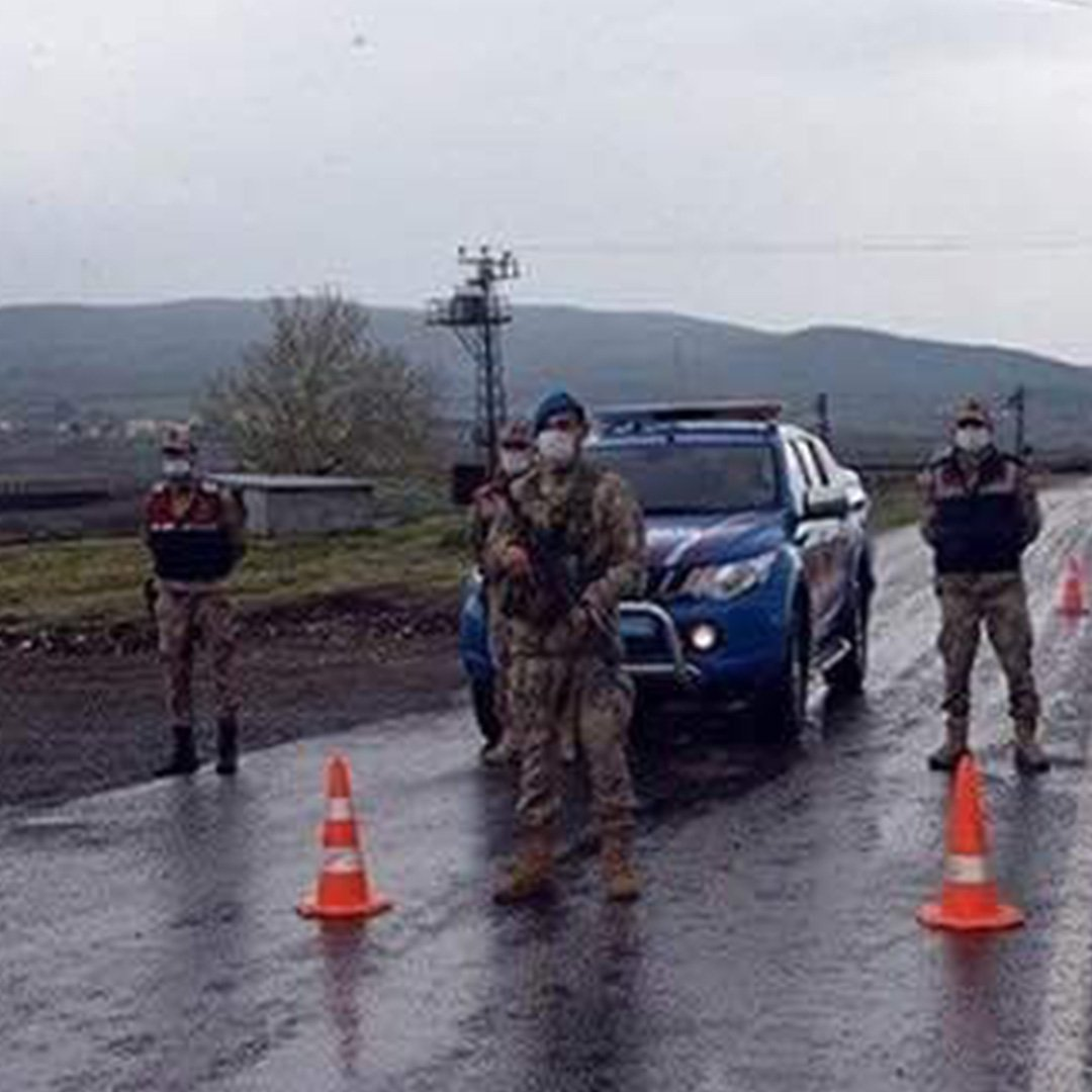 Gaziantep'e giriş çıkışlar kapatıldı
