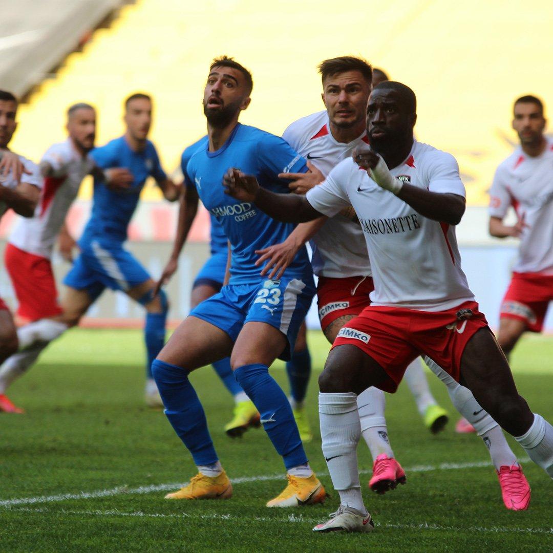Gaziantep FK: 0 - B.B. Erzurumspor: 0