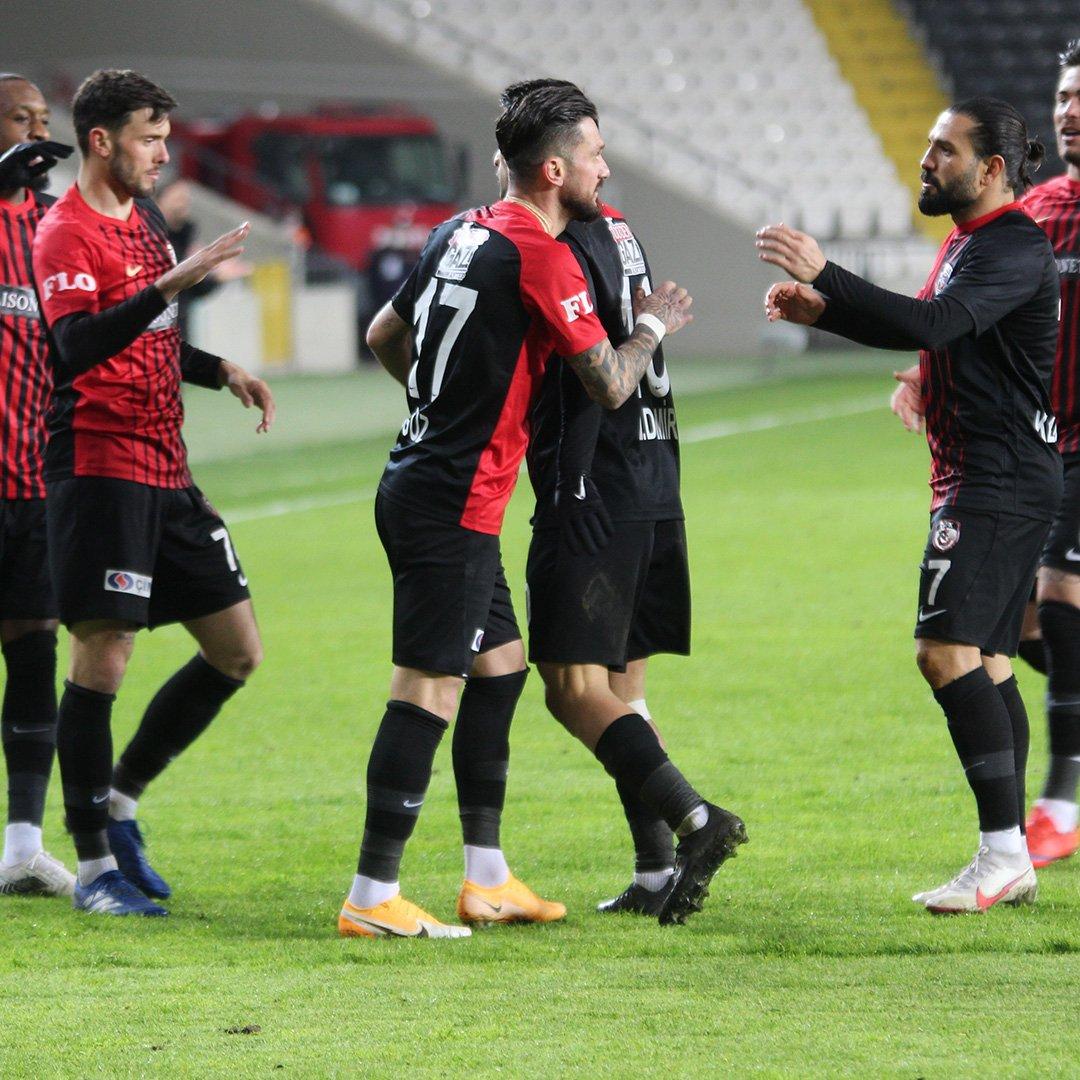 Gaziantep FK ligi dokuzuncu bitirdi