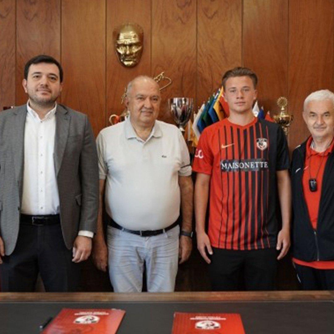 Gaziantep FK Ukraynalı genç yıldızı transfer etti