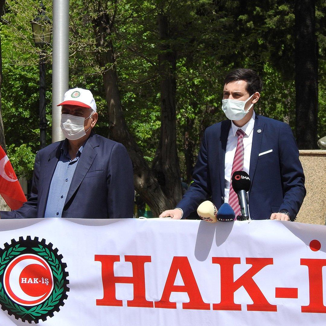 Gaziantep'te 1 Mayıs İşçi Bayramı kutlaması