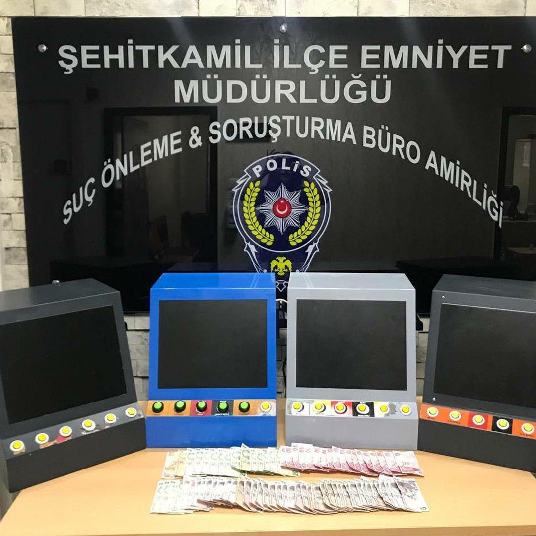 Gaziantep'te 462 şahıs yakalandı