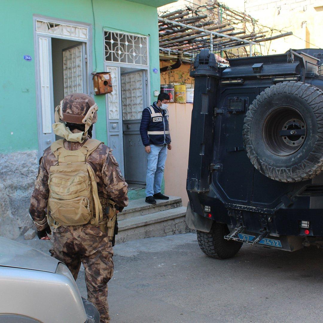 Gaziantep'te dev narkotik operasyonu
