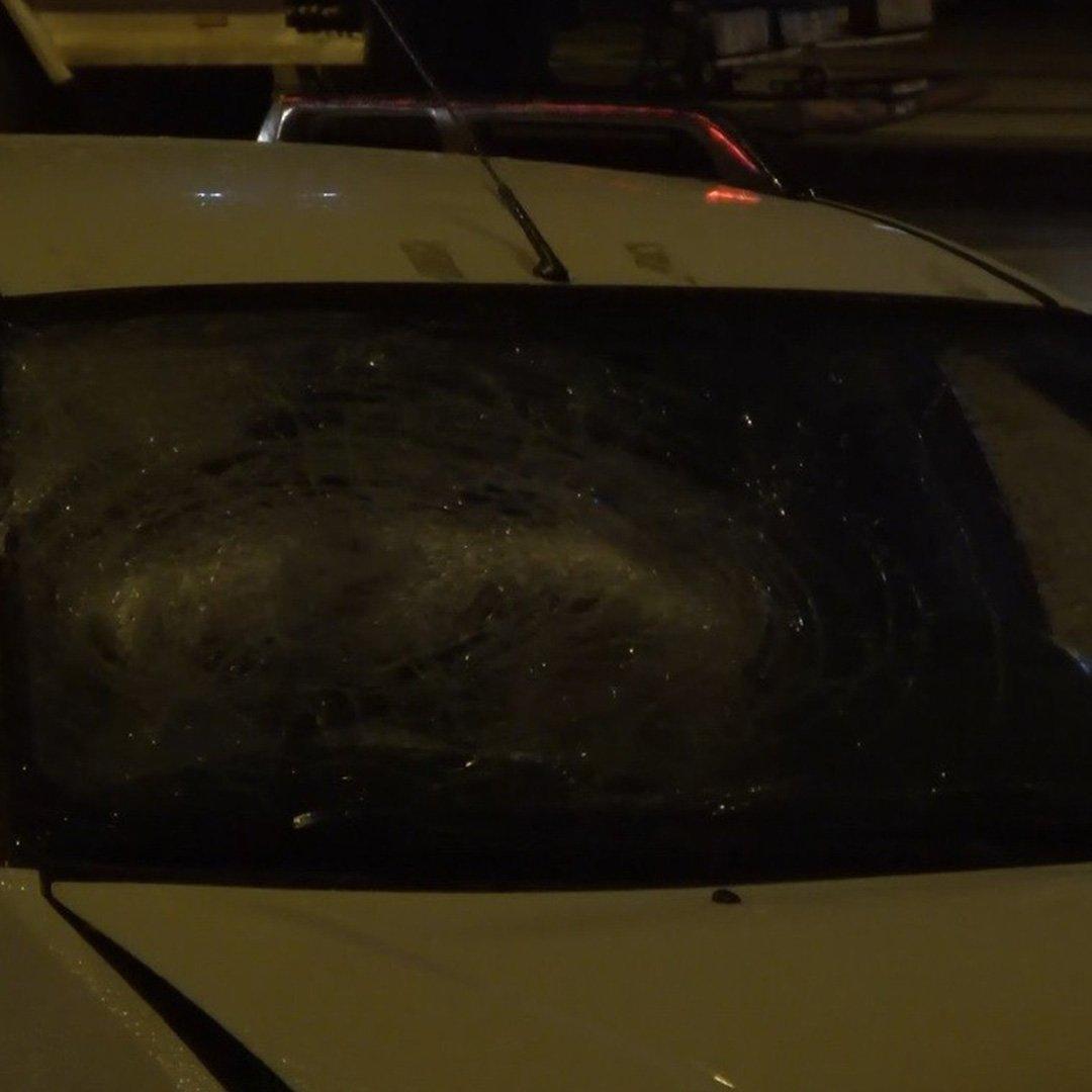 Gaziantep'te dur ihtarına uymayan şüpheli polise ateş açtı