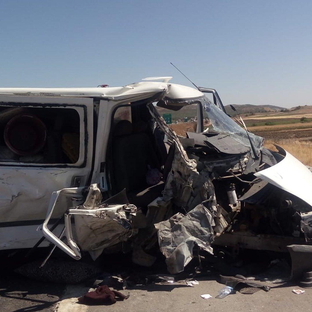 Gaziantep'te feci kaza: 2'si ağır 10 yaralı