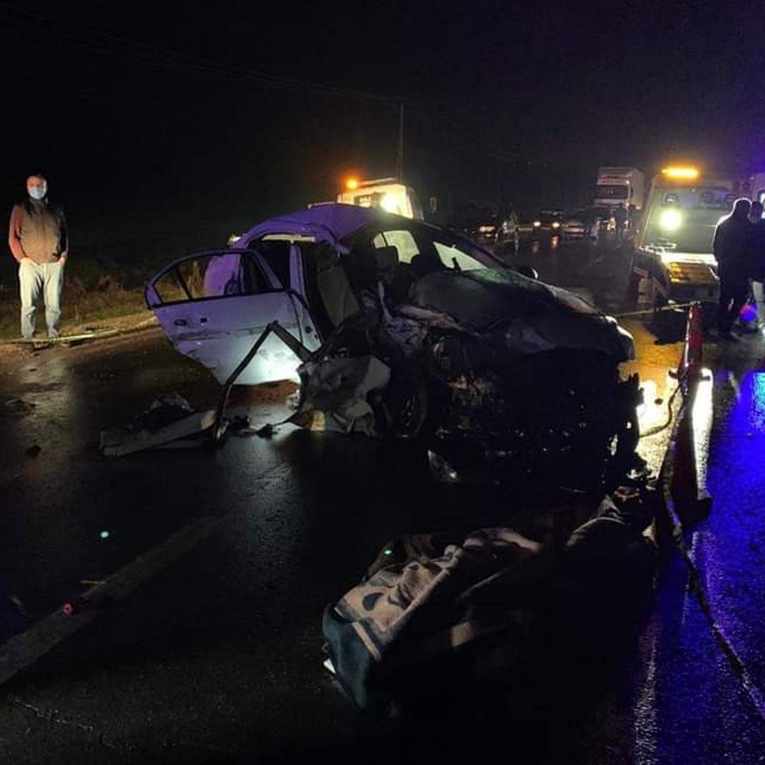 Gaziantep'te trafik kazası: 2 ölü, 2'si ağır 10 yaralı
