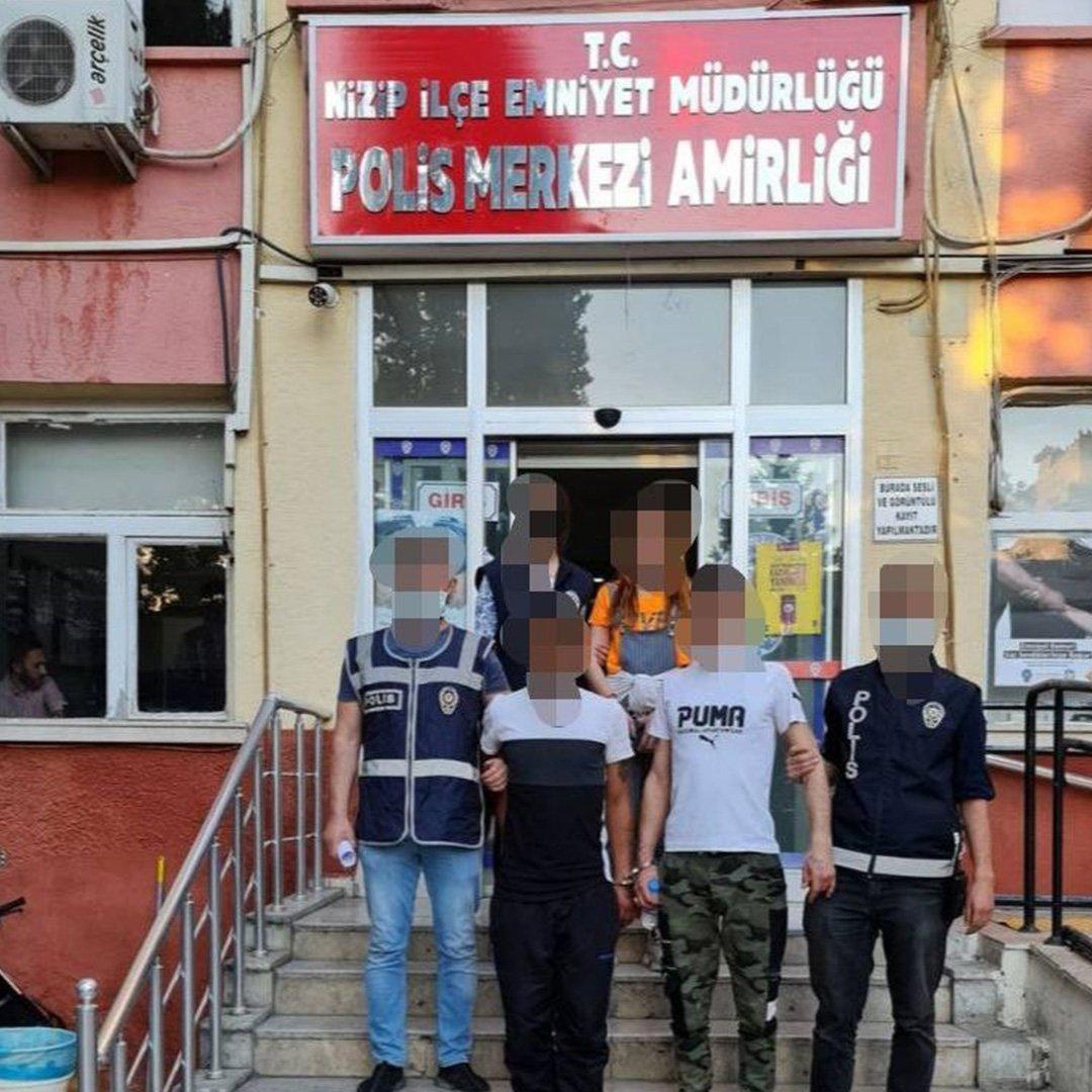 Gaziantep'te uyuşturucu özendirenlere operasyon