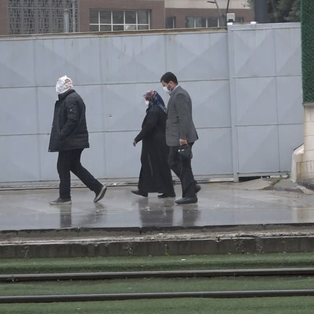 Gaziantep'te yağmur etkili oluyor