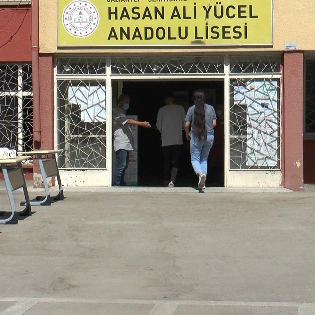Gaziantep'te YKS heyecanı