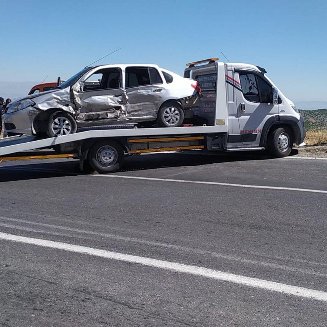 Gaziantep'te zincirleme kaza: 2 ölü, 8 yaralı
