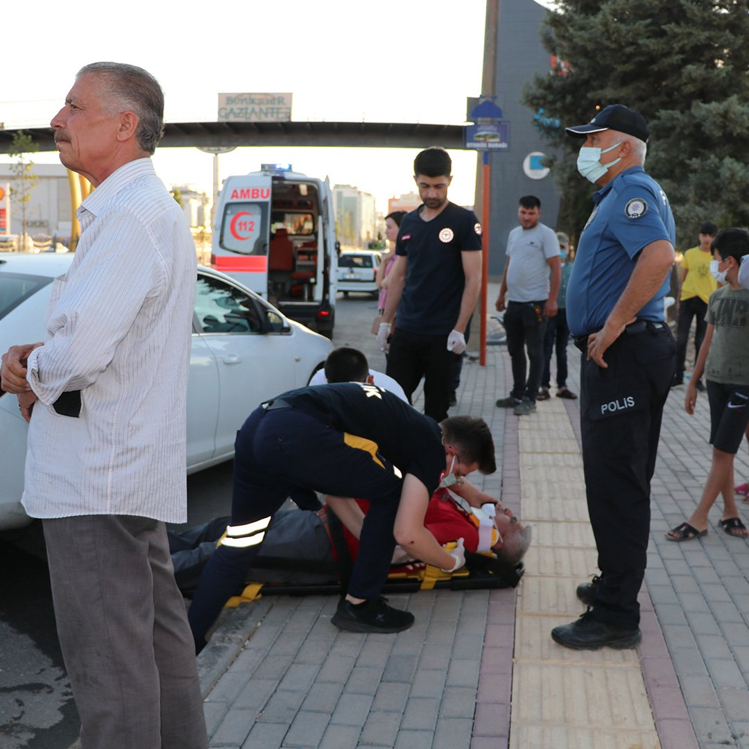 Gaziantep'te zincirleme kaza: 3 yaralı