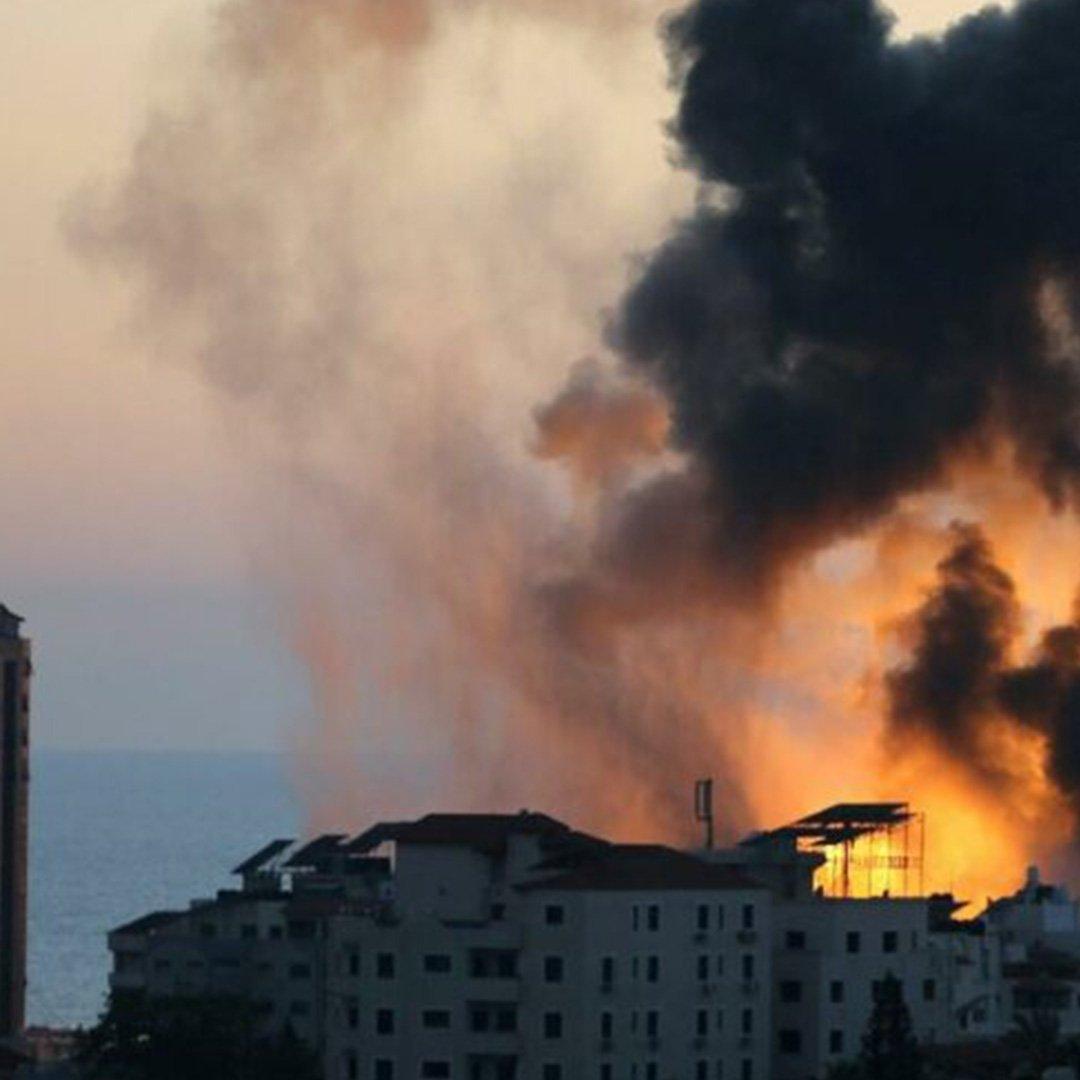 Gazze'de kayıplar artıyor… Ölü sayısı 136'ya yükseldi
