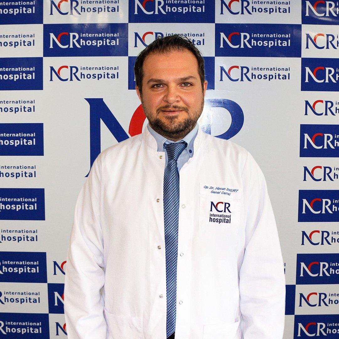 Hasan Erkurt NCR Hospital'da