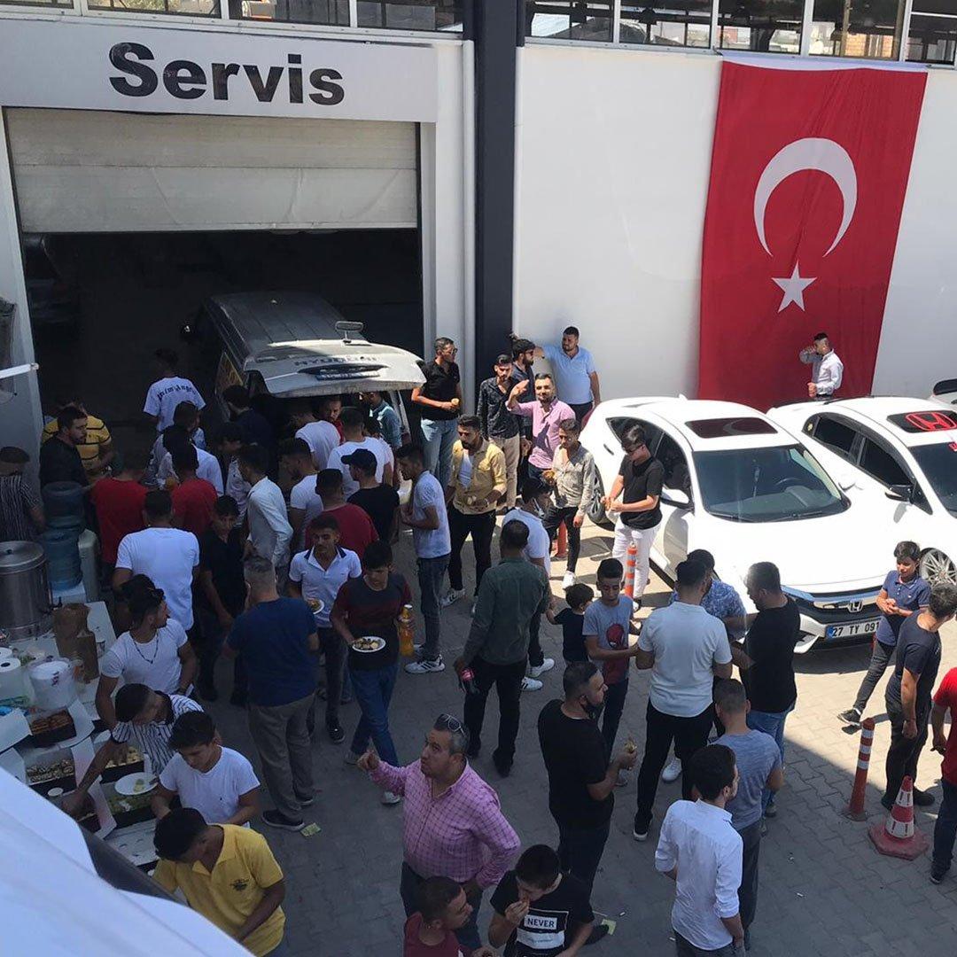 Honda tutkunları Gaziantep'te buluştu