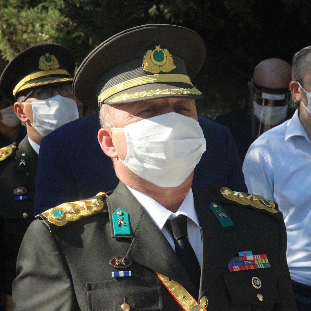 Hudut Alay Komutanı Oruçoğlu, tuğgeneralliğe terfi etti