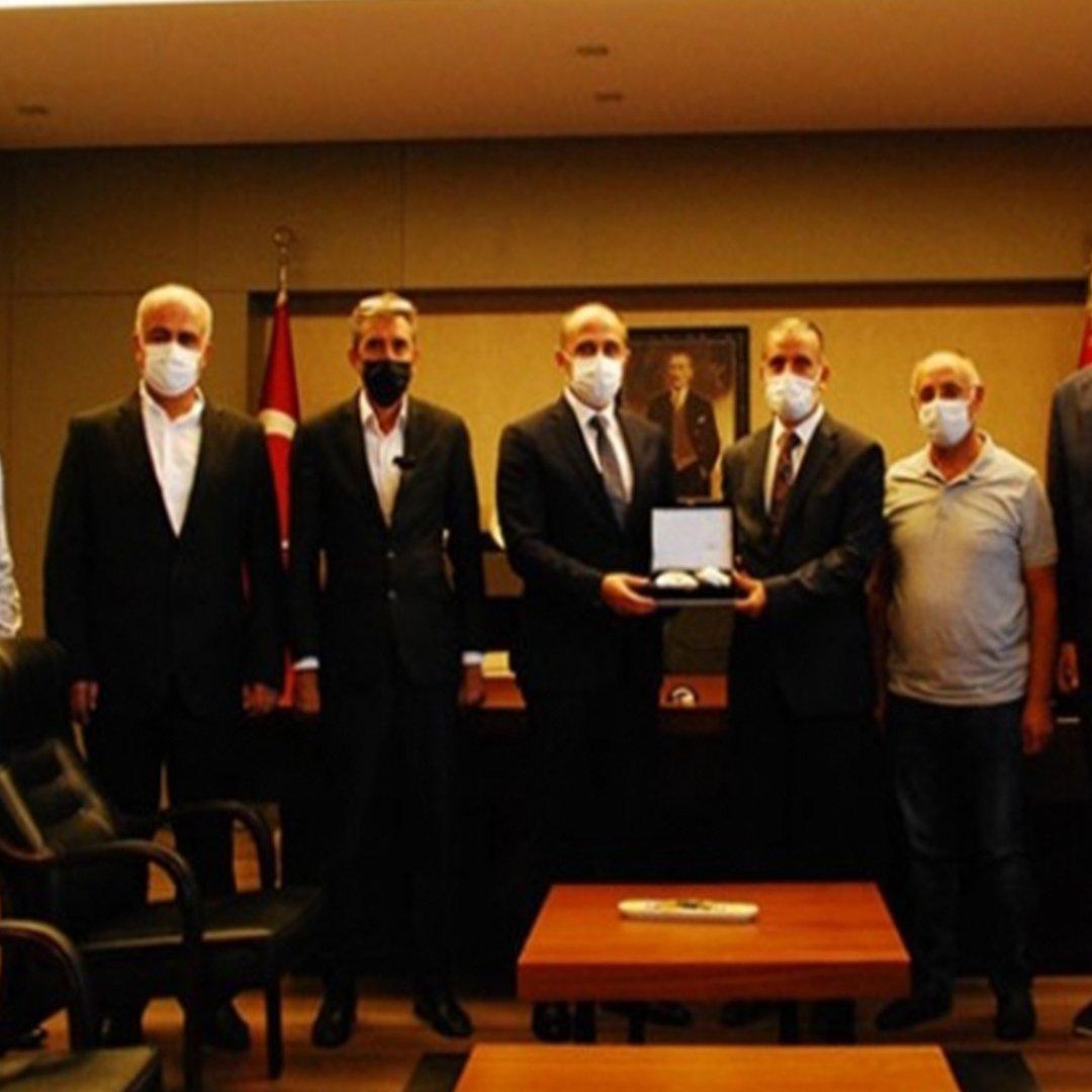 İNTERNET MEDYASI DERNEĞİ'NDEN EMNİYET MÜDÜRÜ BAŞBUĞ'A ZİYARET