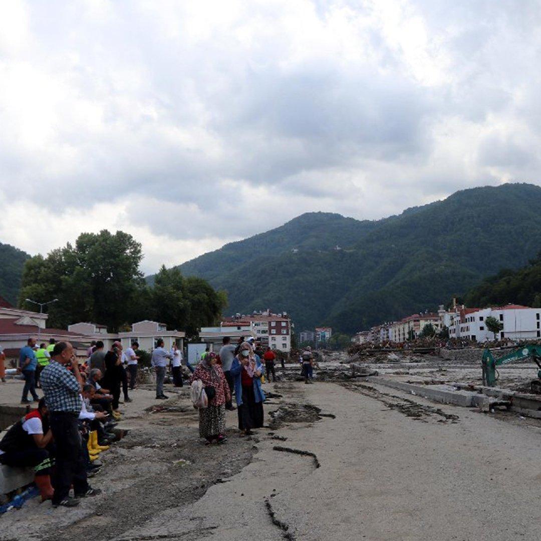 Karadeniz'de sel felaketi: Can kaybı 41'e yükseldi