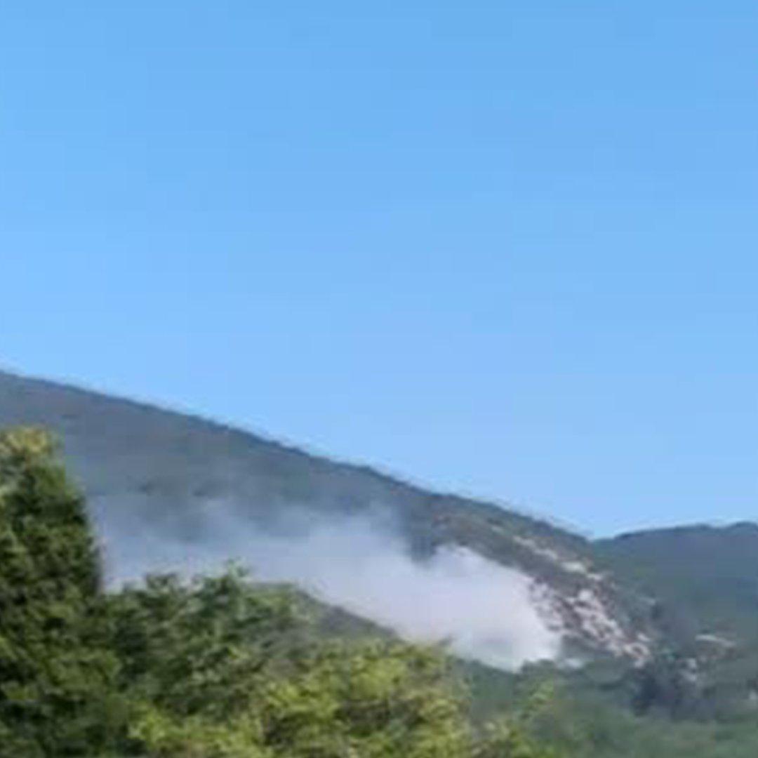 Kazdağları'nda orman yangın