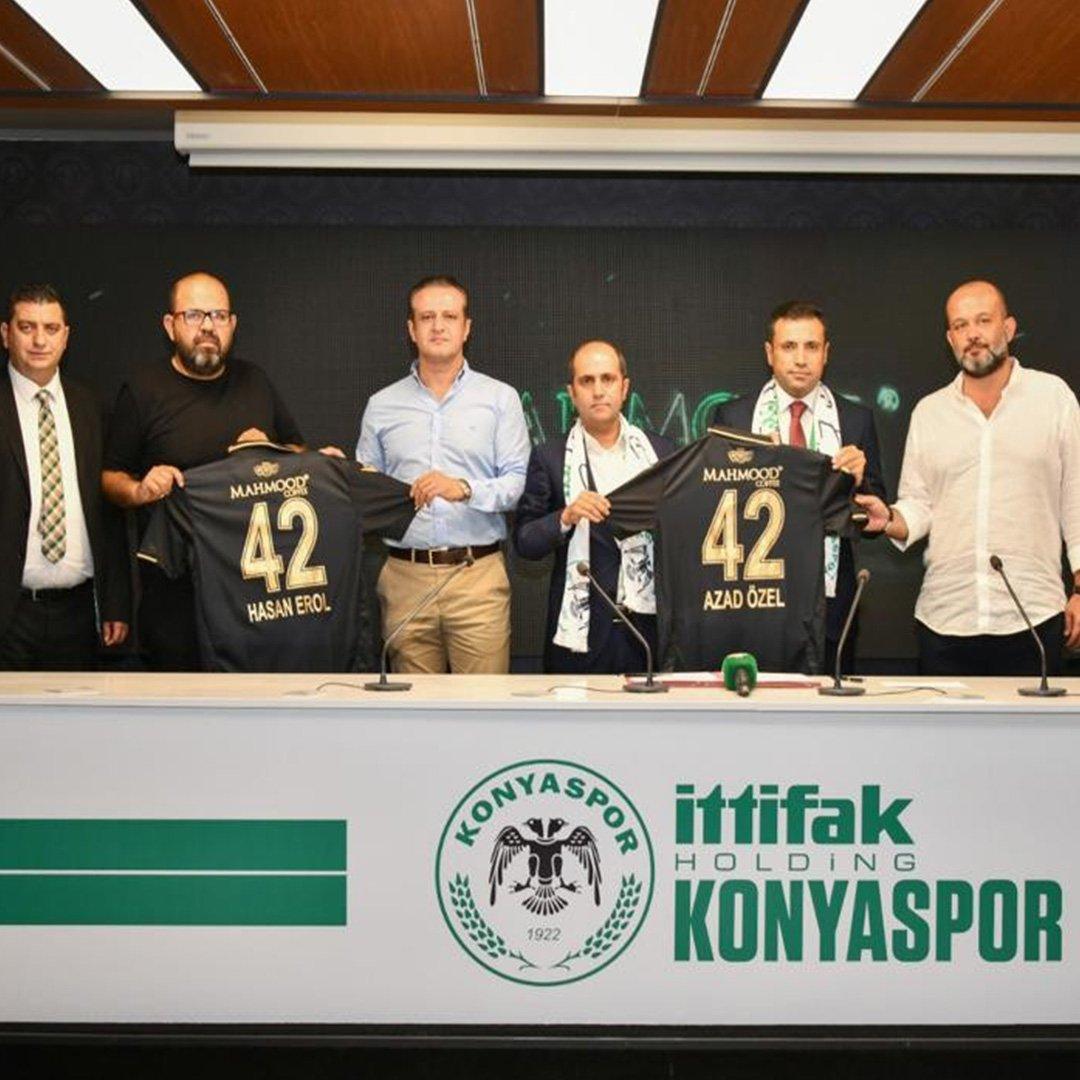 Mahmood Coffee İttifak Holding Konyaspor'un forma sponsoru oldu