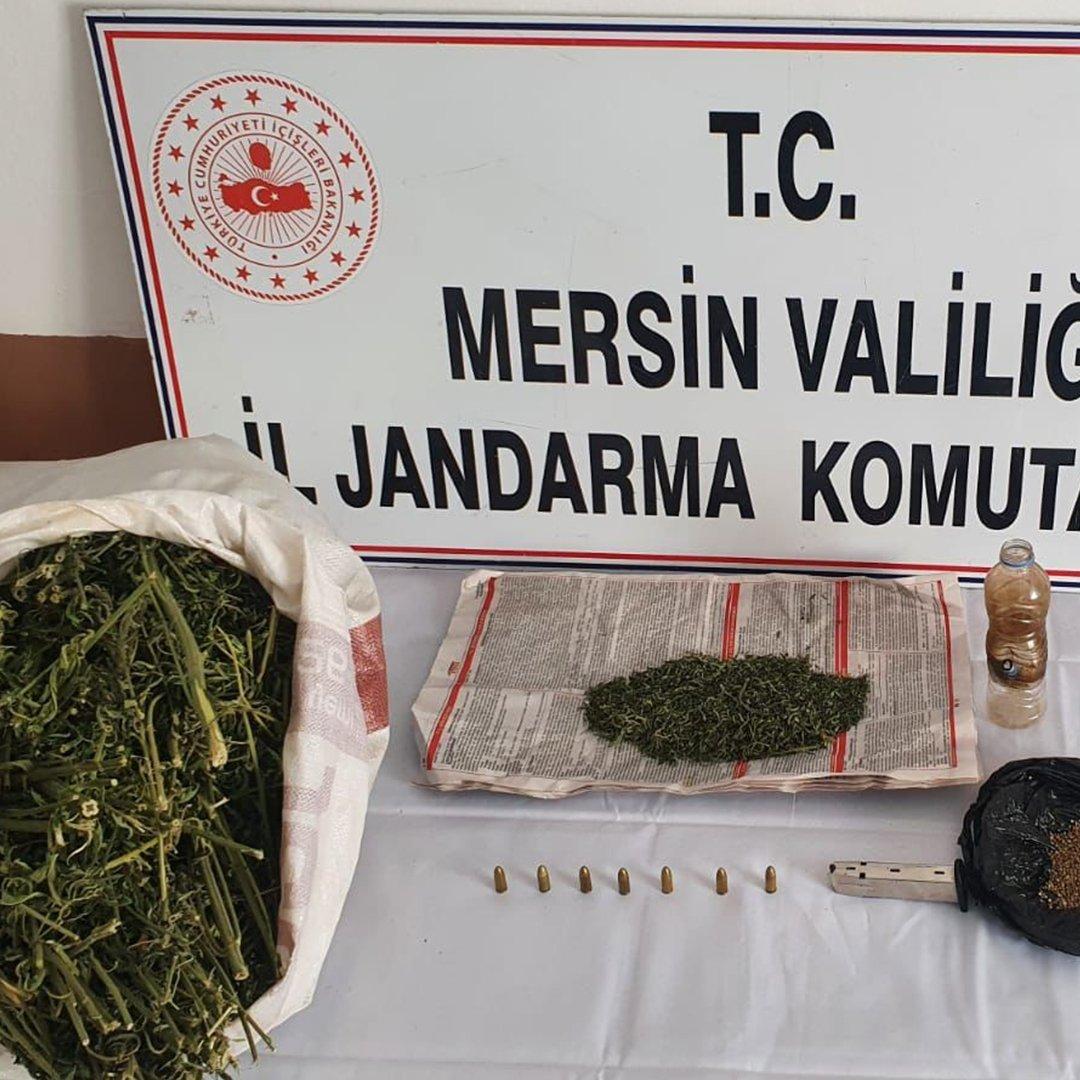 Mersin'de uyuşturucu operasyonunda 1 kişi tutuklandı