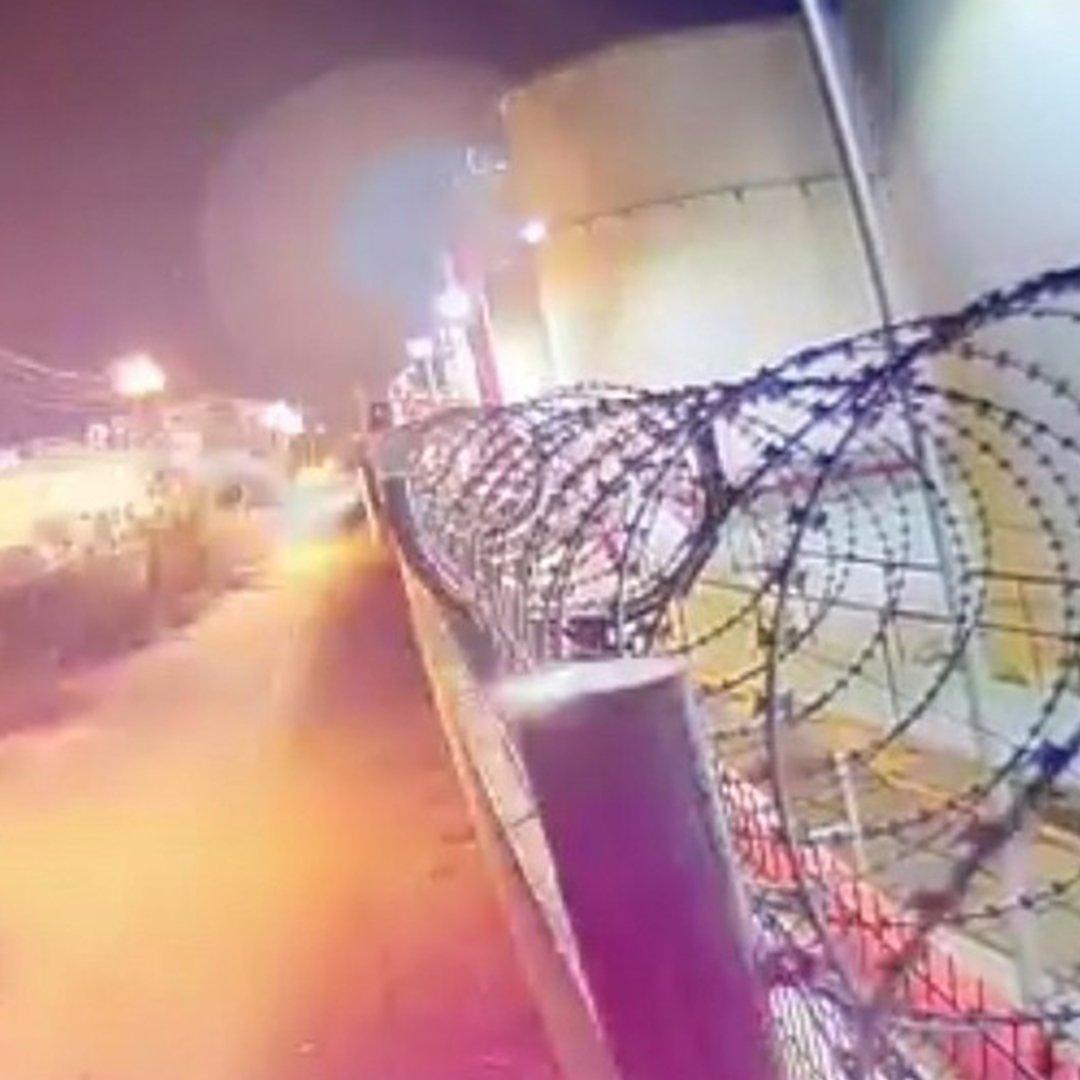 Mersin'deki patlama kameralara yansıdı